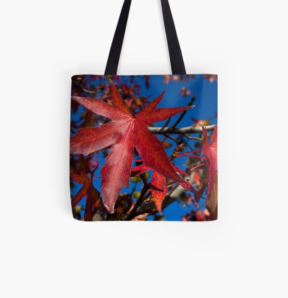 Autumn Blast All Over Print Tote Bag