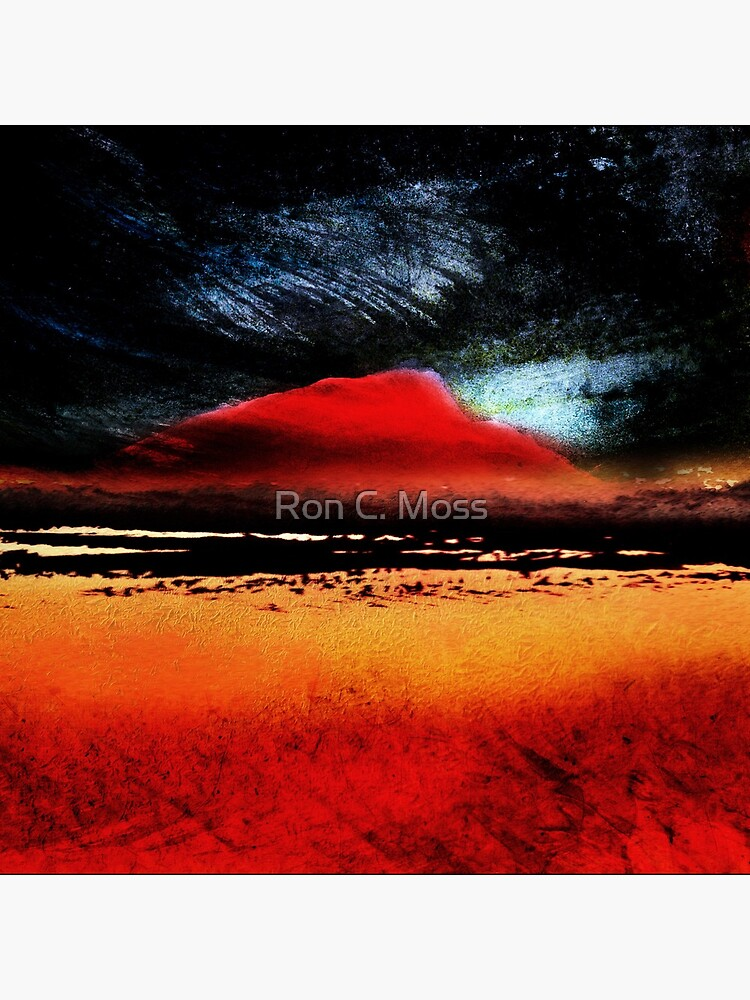 Red Mountains by ronmoss