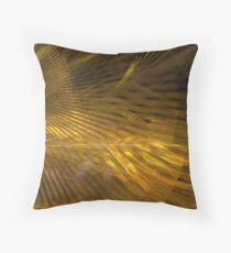 Golden Hair Throw Pillow