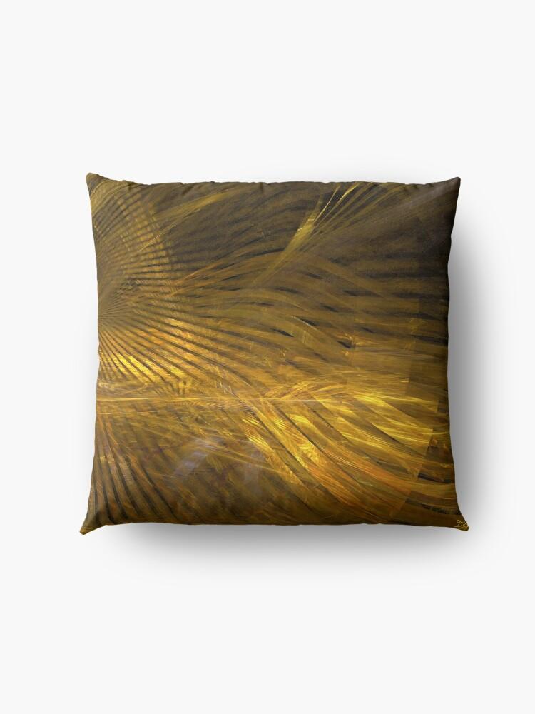 Alternate view of Golden Hair Floor Pillow