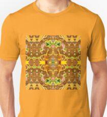 Mocha Arabesque Unisex T-Shirt