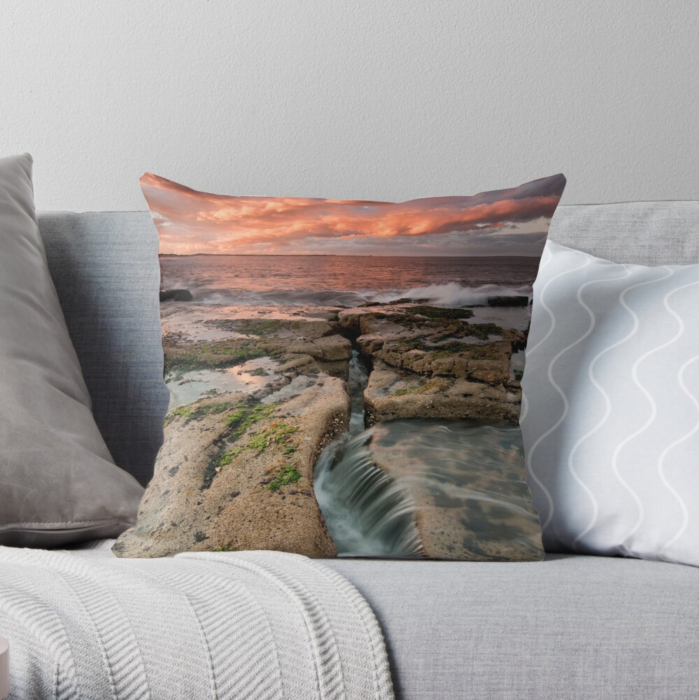 Warm Front Throw Pillow