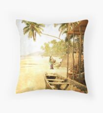 Anjuna, GOA Throw Pillow