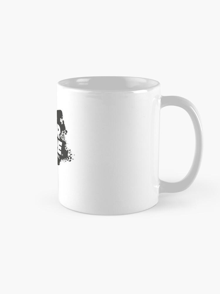 Alternate view of FOR SURE LOGO Mug BLACK/WHITE Mug