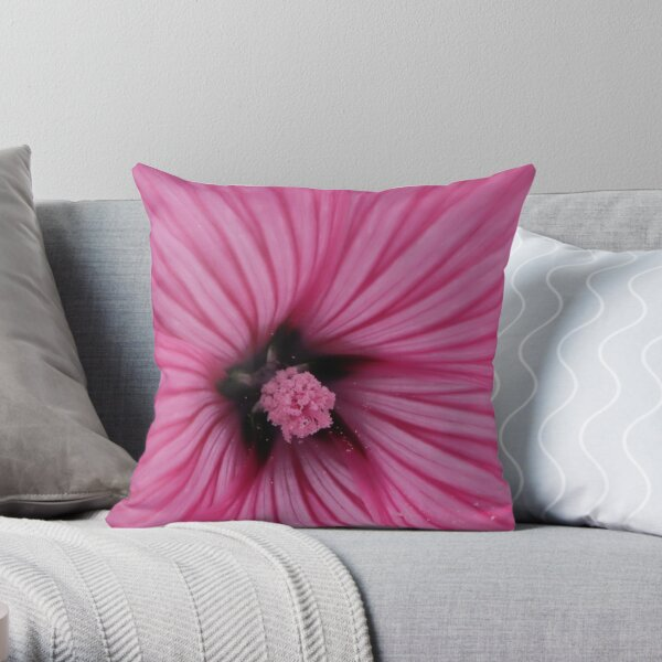 Touch of Pollen Throw Pillow