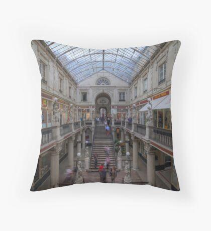 Canopied - Passage Pommeraye Throw Pillow