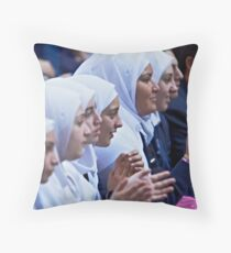 Multicultural  Throw Pillow