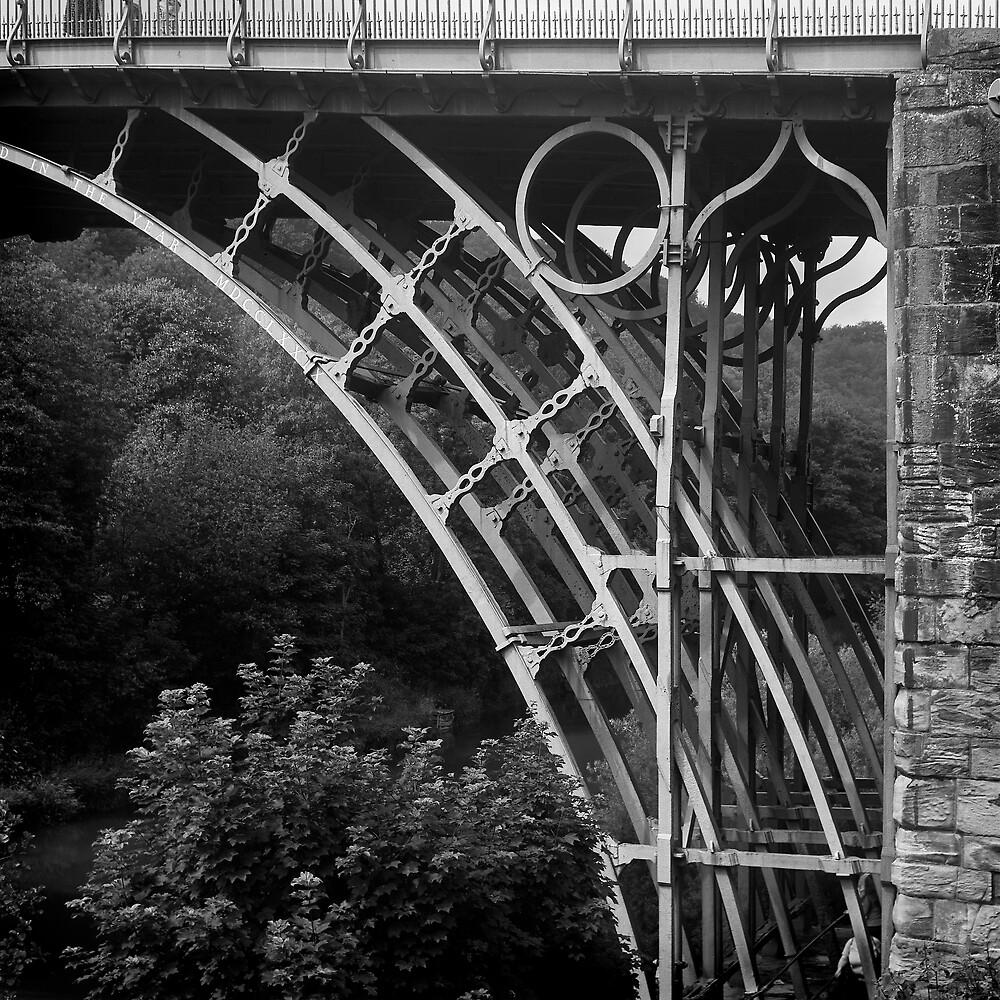 Ironbridge detail by Chas Bedford