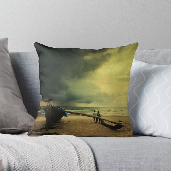 Twilight years Throw Pillow