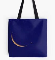 Bolsa de tela Crescent Moon with Venus
