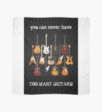 Too Many Guitars! Scarf