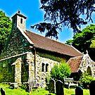 The Church of St Boniface  1070 AD by Lyndy