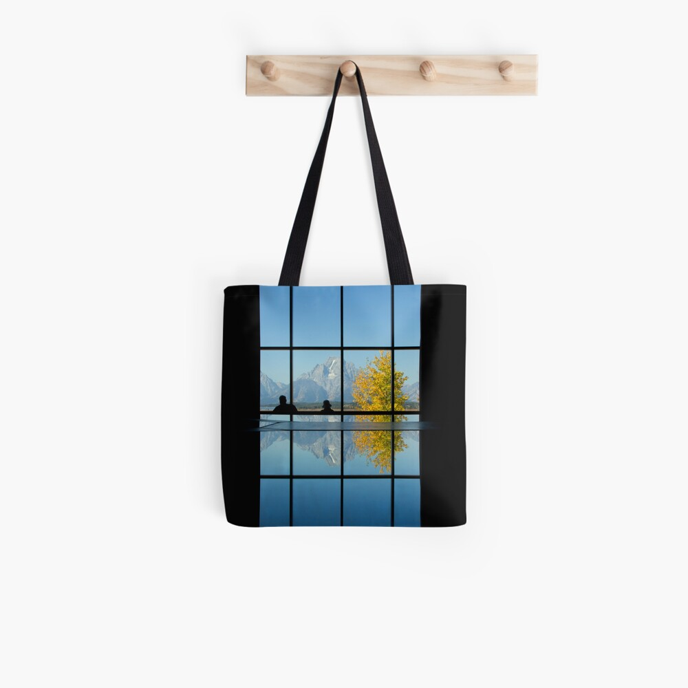 Moran Reflected, Jackson Lake Lodge Tote Bag