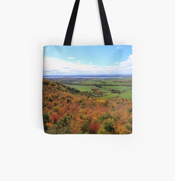Lookout for Autumn All Over Print Tote Bag