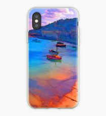 Mousehole Harbor, Cornwall - UK iPhone Case