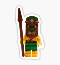 LEGO Island Warrior Sticker