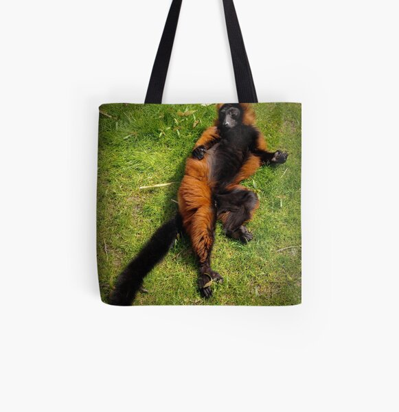 Relaxed All Over Print Tote Bag