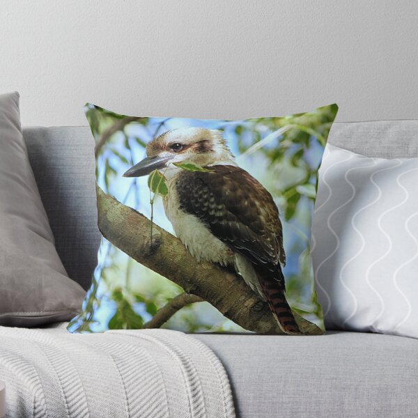 Kookaburra >> Throw Pillow