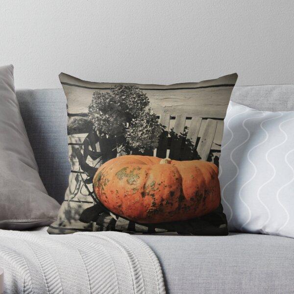 A Harvest Still Life Throw Pillow