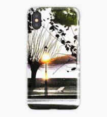 surrealistic arboreal morning iPhone Case