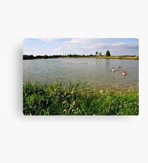 Small Lake. 02. Canvas Print