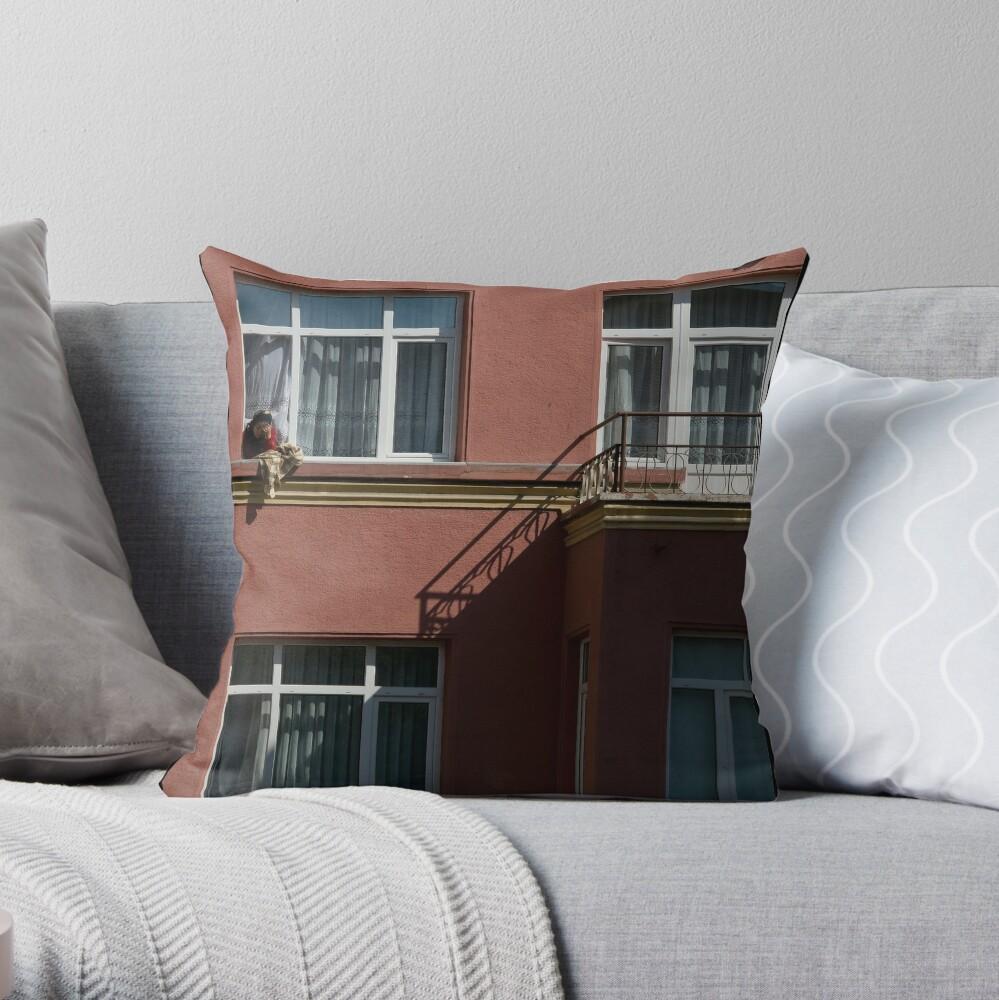 No Escape Throw Pillow