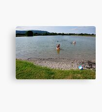 Small Lake. Eichsee. Germany. Canvas Print