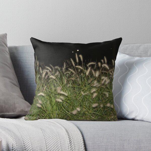 Grains of Gold Throw Pillow