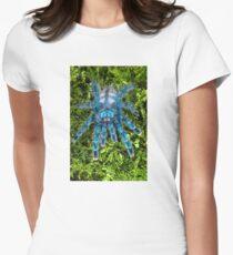 Juvenile Avicularia versicolor Tarantula  Women's Fitted T-Shirt