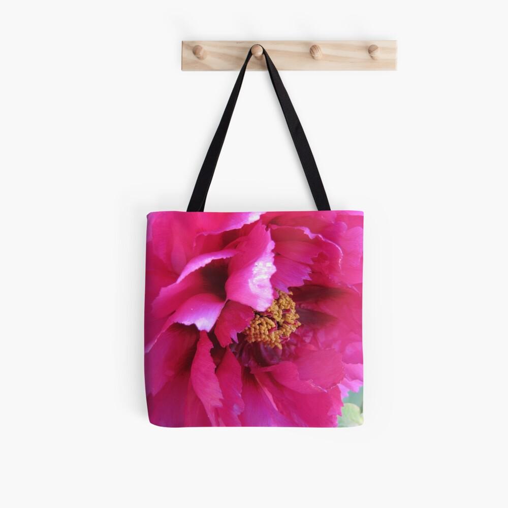 Ruffled pink petals Tote Bag