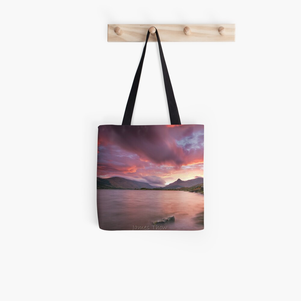 Glencoe sunrise Tote Bag