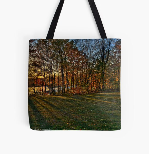 Fall Colours All Over Print Tote Bag