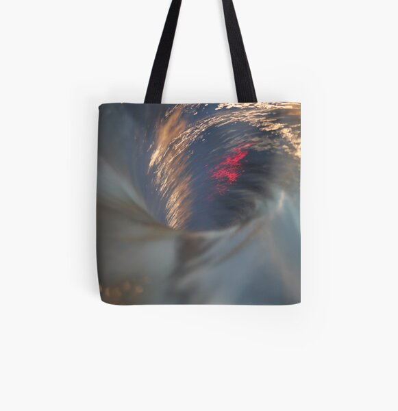 Color Whirl All Over Print Tote Bag