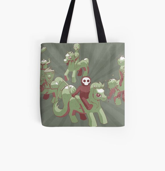 My Little Apocalypse All Over Print Tote Bag