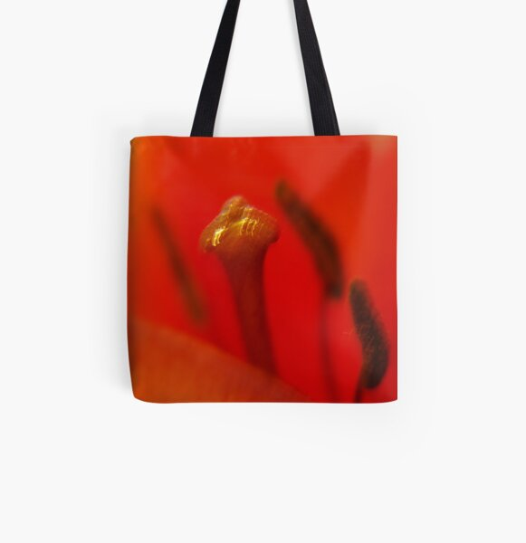 unusual abstraction... All Over Print Tote Bag