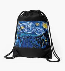 Starry Berk Drawstring Bag
