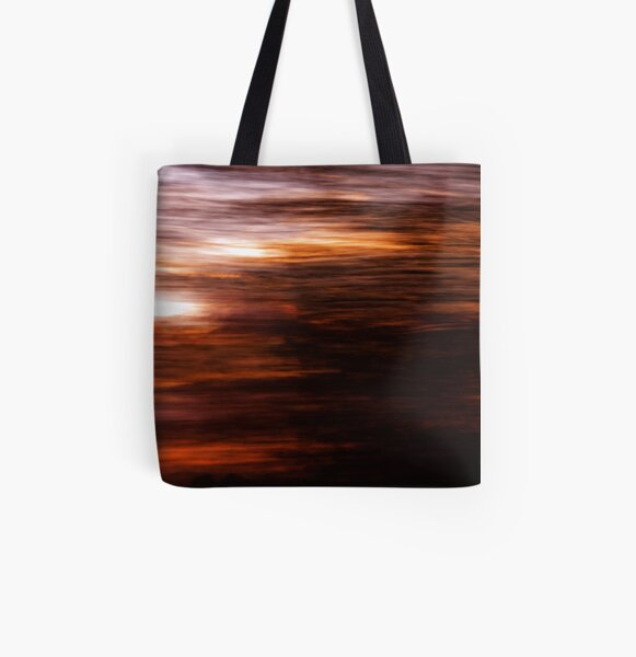 The Past All Over Print Tote Bag