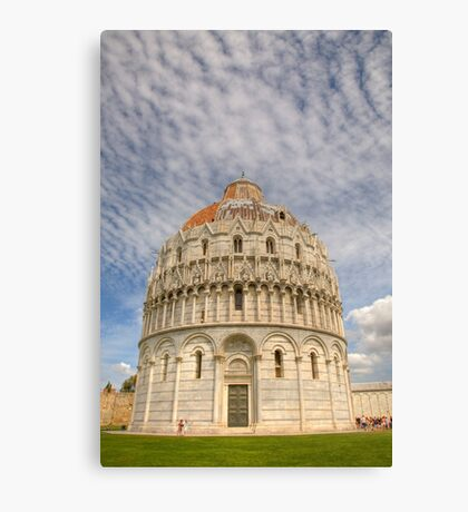 Campo di Miracoli field of Miracles Canvas Print