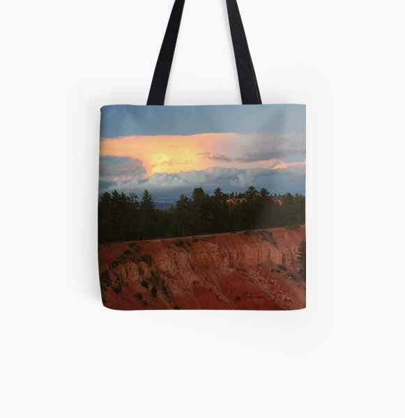 Sunset at Bryce Canyon All Over Print Tote Bag