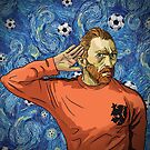 "Vincent ""I can't hear you"" Van Gogh. Revolutionary Football by pupazzaro"
