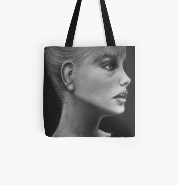 Sabrina All Over Print Tote Bag