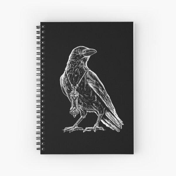 Raincrow Studios Crow Logo Spiral Notebook