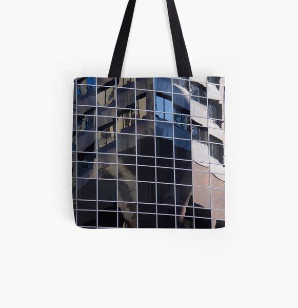 Flat & Coming At All Over Print Tote Bag