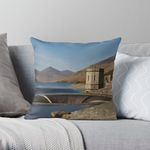 Silent Valley, Co Down Throw Pillow