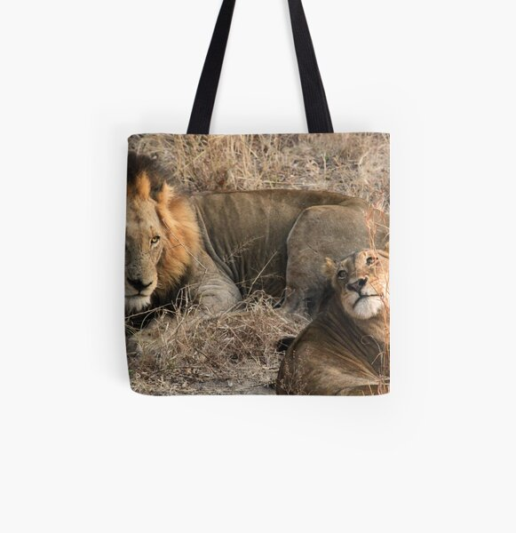 What a handsome couple!(I love you!) All Over Print Tote Bag