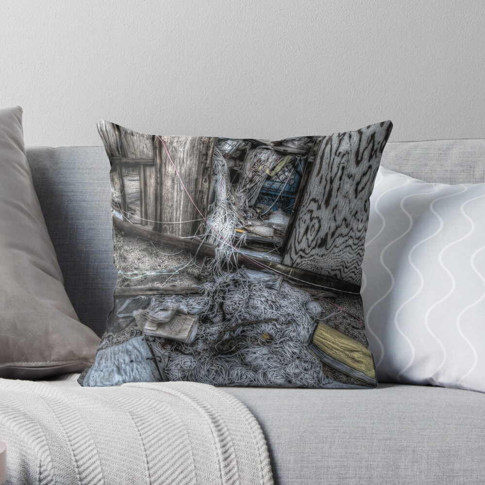 Strung-out Throw Pillow