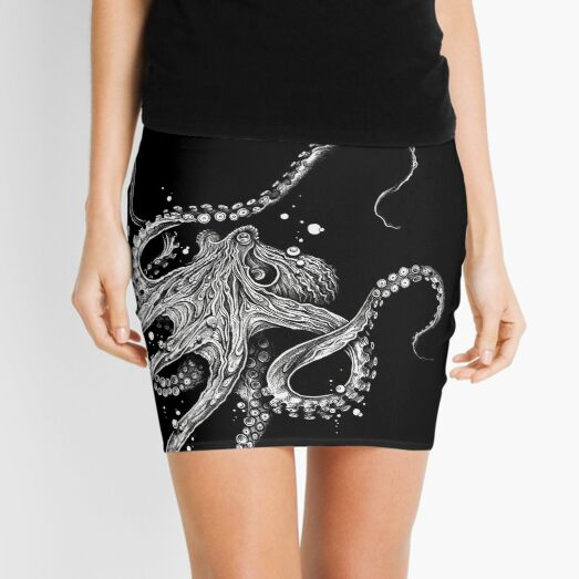 Octopus Mini Skirt