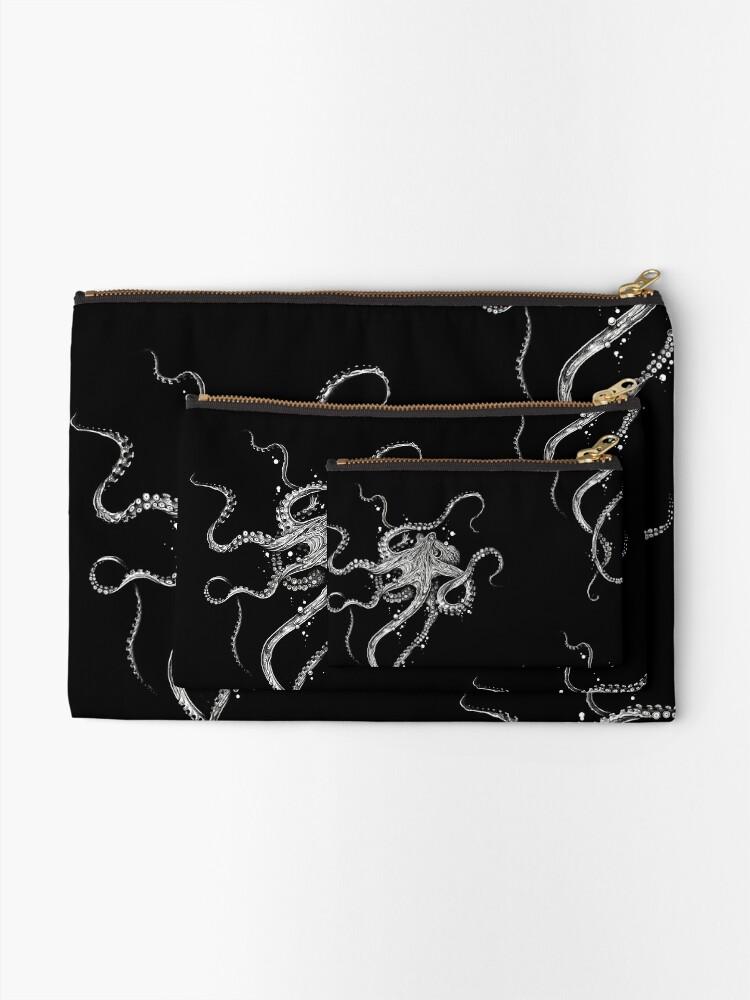 Alternate view of Octopus Zipper Pouch