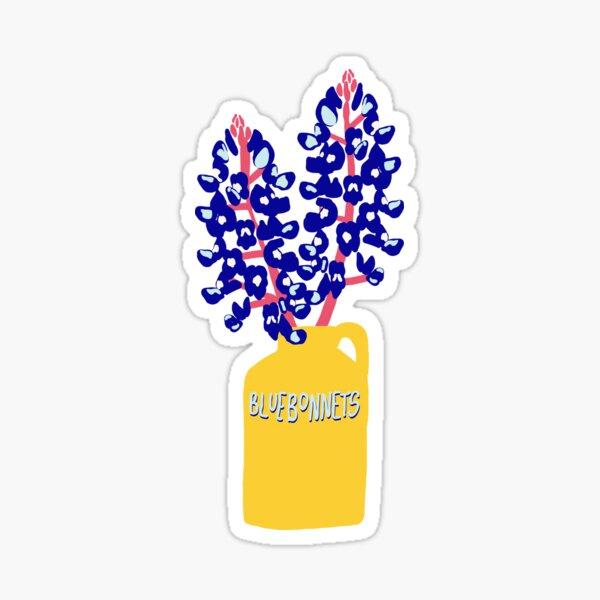 Bluebonnets Sticker Sticker