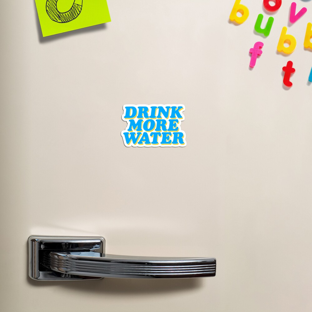 drink more water baby Magnet